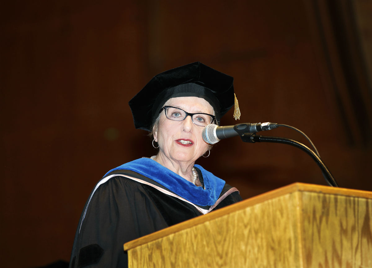 Dr. Nadja Graff will succeed Dr. Anthony Polemeni as vice president of the Touro College Division of Graduate Studies.