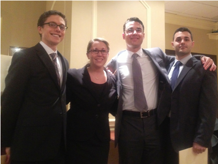 Touro Law Wins Nassau Academy of Law Moot Competition